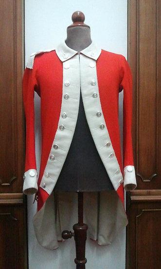 British marine officer's coat 1775