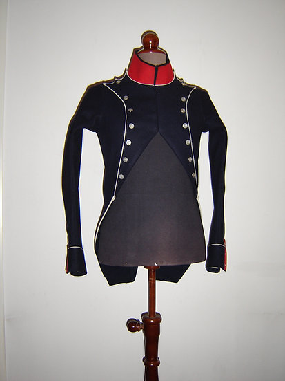 French light infantry habit-veste 1793-1812