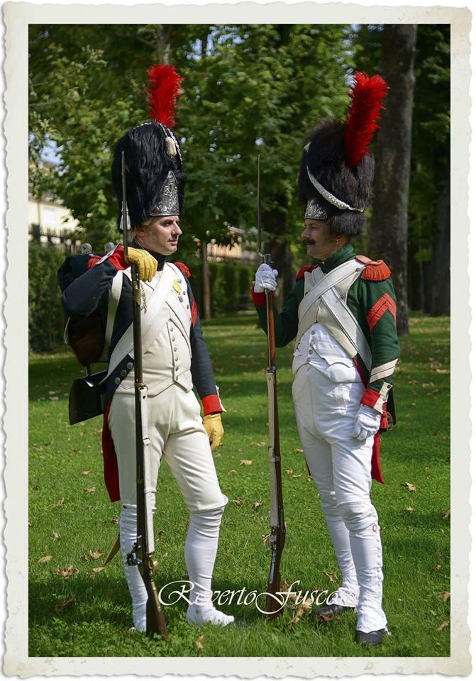 Italian Royal Guard grenadiers