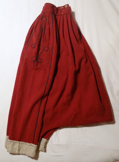 "French Zouave trousers or ""sarouel"" 1853"