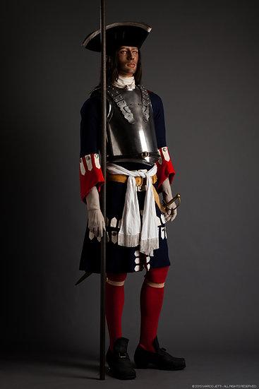 Garde Française pikeman c. 1703