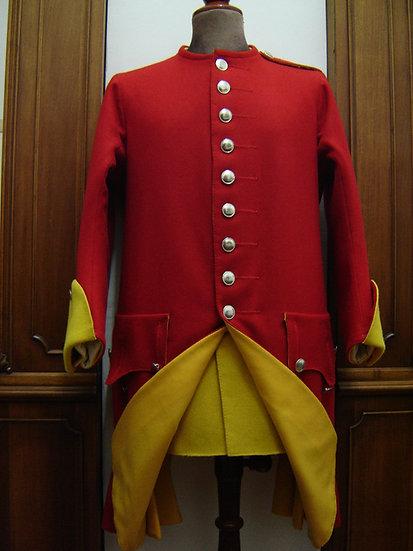 Clare's Irish regiment coat c.1745