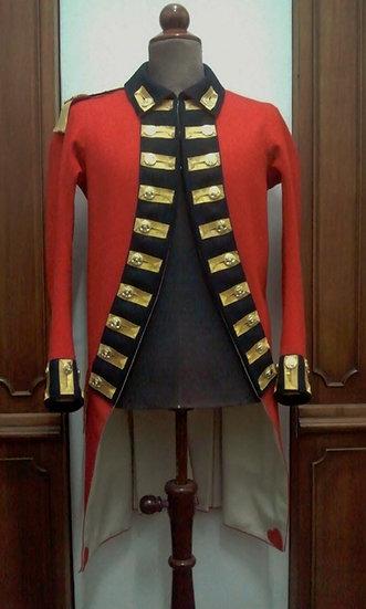 British 8th Foot officer's coat 1775