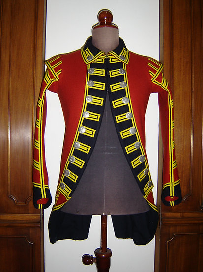 British drummer/fifer coat 1775