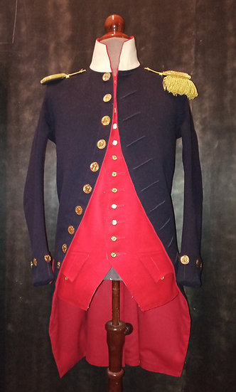 French marine officer 1792 habit