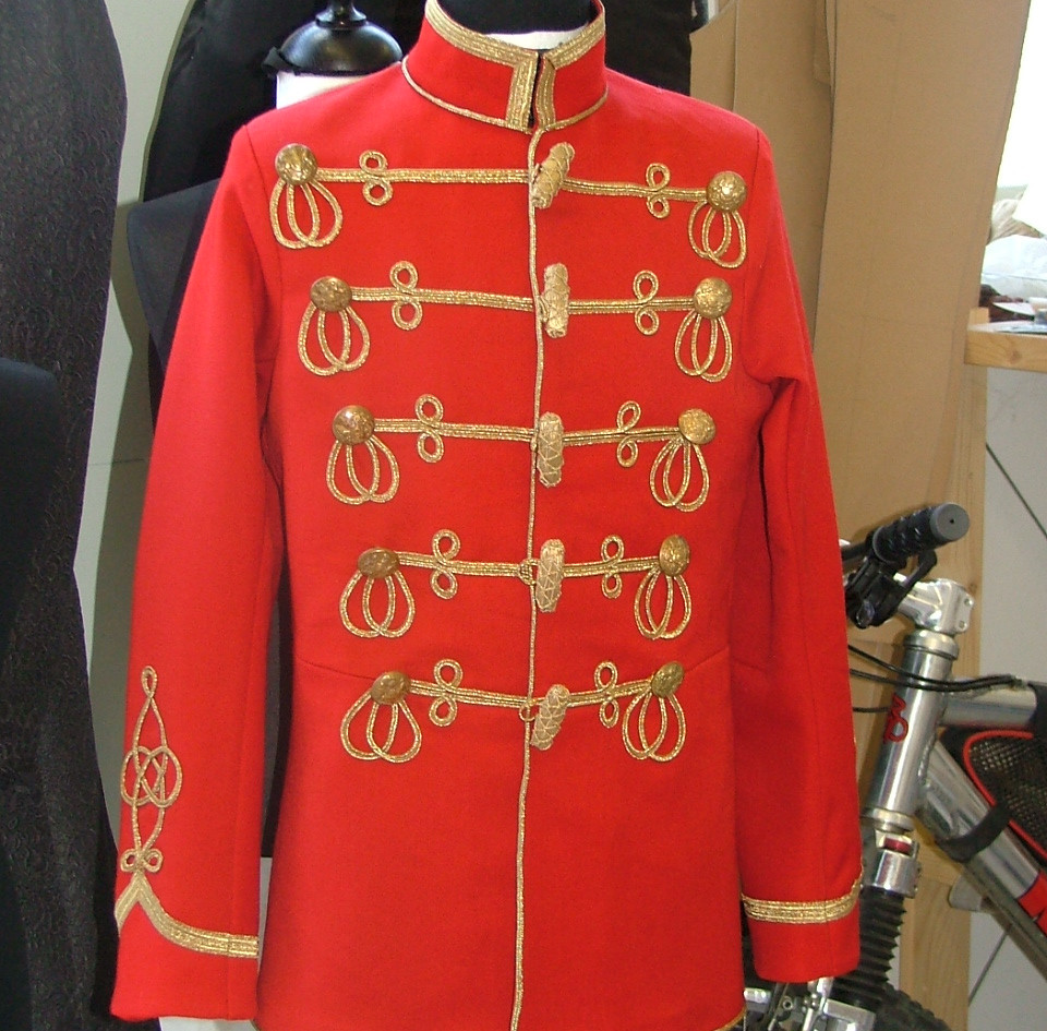 Hussar jacket for The Nutcracker Prince.