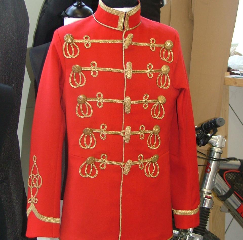 Hussar jacket for The Nutcracker Prince.