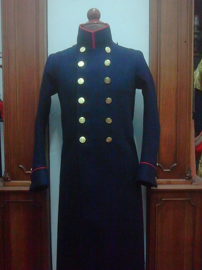 "French Old Guard overcoat ""redingote"""