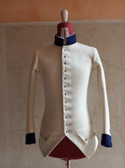 Sleeved waistcoat 1779-1786