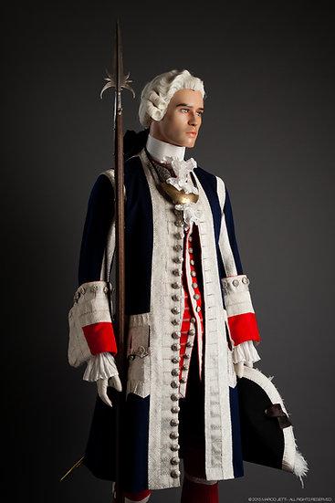 Garde Française officier c. 1745
