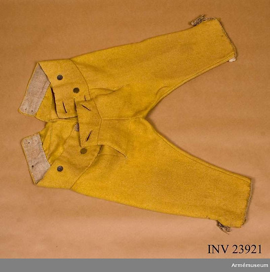 Fall-front 18th century breeches