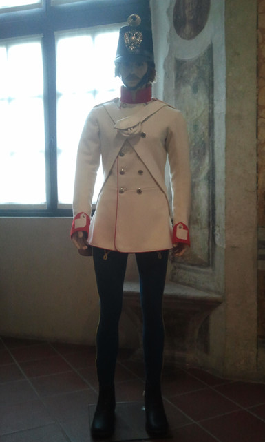 Hungarian infantryman 1859
