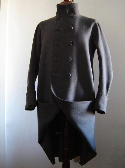 French infantry overcoat Bardin 1812