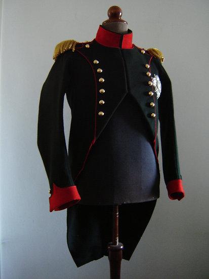 """Napoleon's """"chasseur à pied"""" habit or coat"""