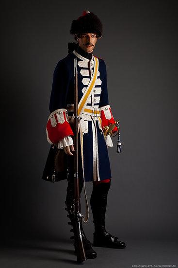 Grenadier à cheval c. 1735