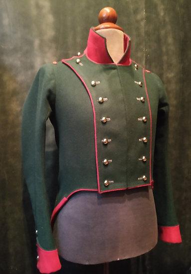French habit-veste Bardin 1812 chasseurs à cheval