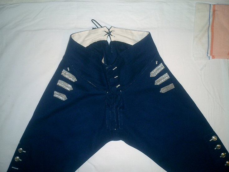 Fly-front 18th century breeches