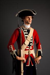British 8th Foot private 1745