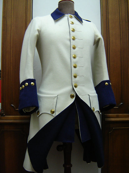 French 1747 justeaucorps