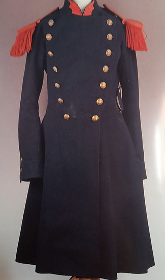 French Imperial Guard overcoat patterns 1857 and 1860