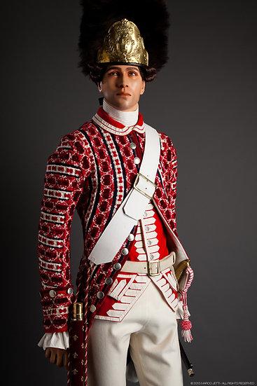Garde Française, fifre des grenadiers c. 1789
