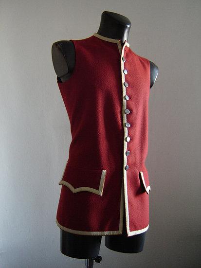 British laced sleeveless vest
