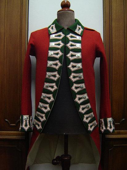 British 5th Foot coat 1768-1783