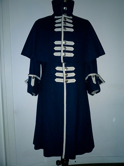 "French Guards ""redingote"" or sentry overcoat"