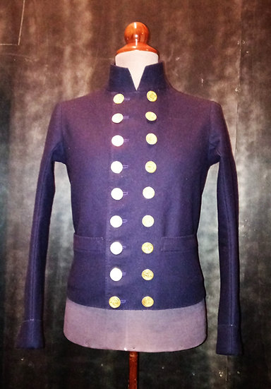 "French navy sleeved vest ""paletot de matelot"" or cavalry stable jacket"