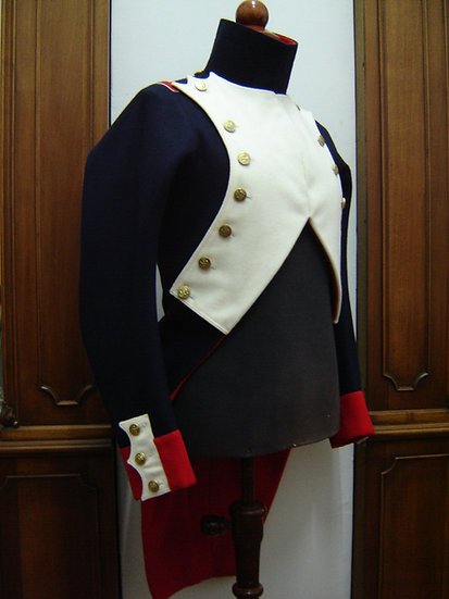 French Imperial Guard habit (coat)