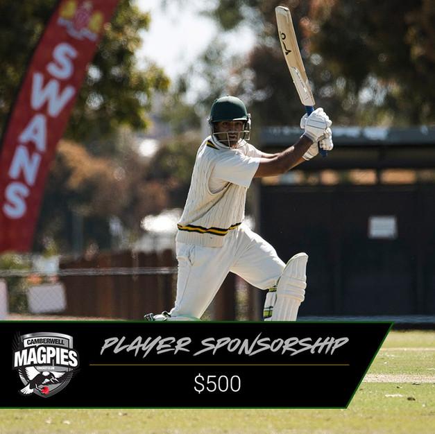 CMCC Player Sponsorship