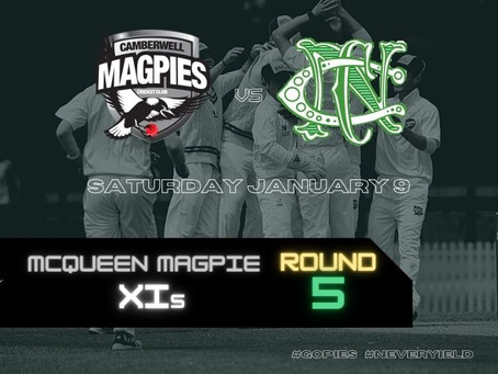 McQueen Magpie XIs - Round 5 vs Northcote