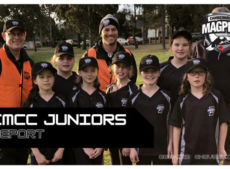 CMCC Juniors Report: October 2020