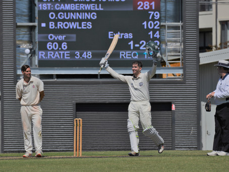 Ben Rowles to Captain The Camberwell Magpies Cricket Club from Season 2021/22