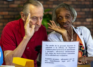 Bill, 83, knew he loved Shirley, 82, when they met. Three months later, he proposed.
