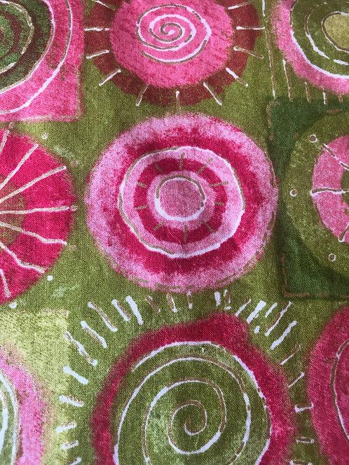 Pink and Green Circles