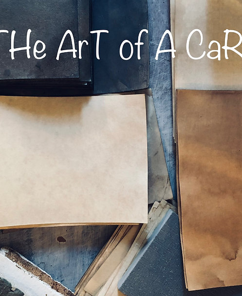 The ArT oF a CaRd