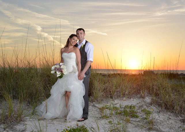 Sunset on the dunes at the Grand Plaza