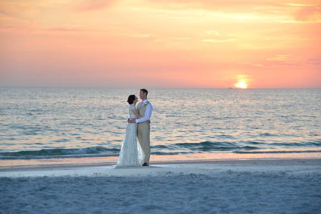 St. Pete Beach wedding photos
