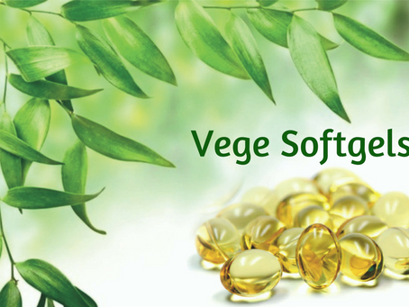 New Formulations in Vege Softgels