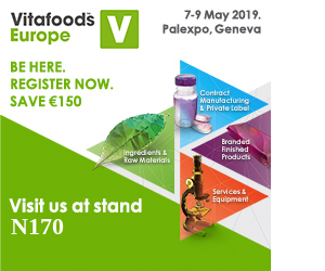 Crius is coming to Vitafoods Europe 2019!