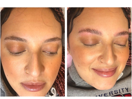 Laminating Brows left and right!