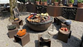 Alchemie des Kochens mit Feuer