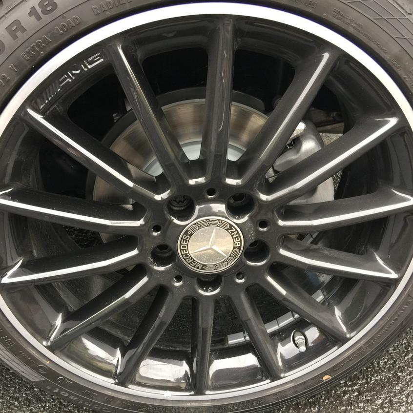 AMG wheels - Night Package
