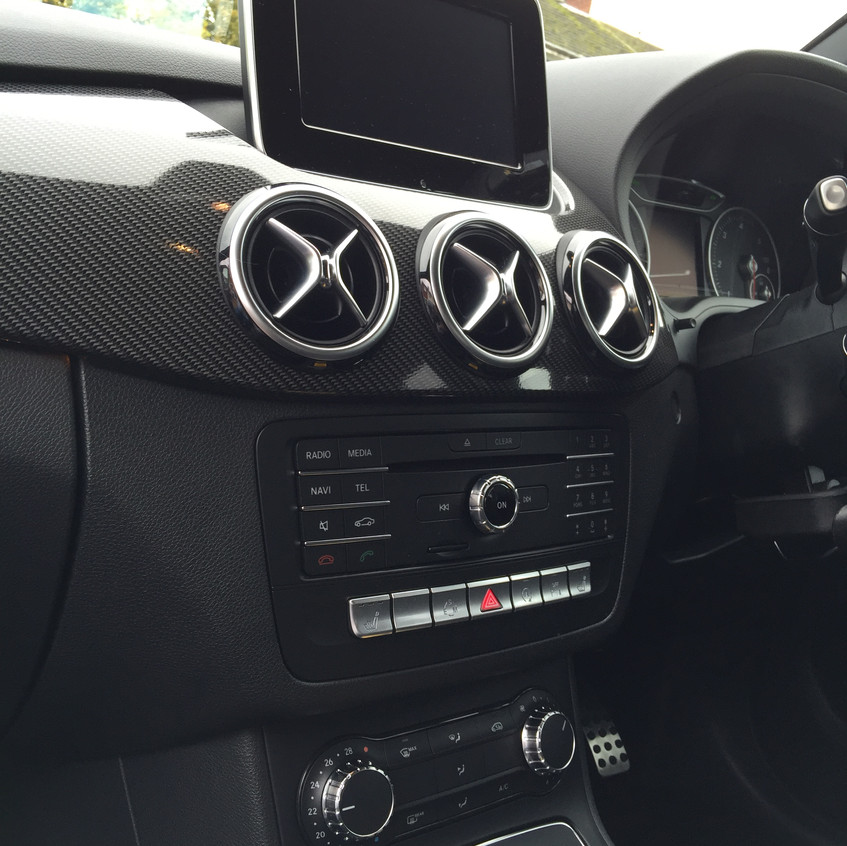 Centre Console and Display
