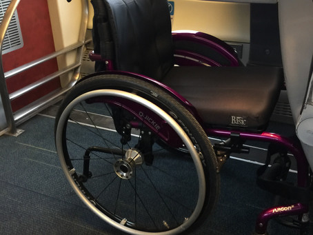 Train Travel: Travelling First Class As A Wheelchair User
