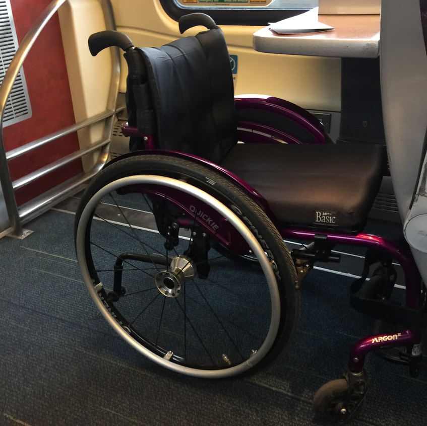 Wheelchair on CrossCountry