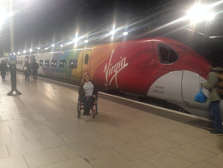Accessible Train Travel: Virgin Trains First Class