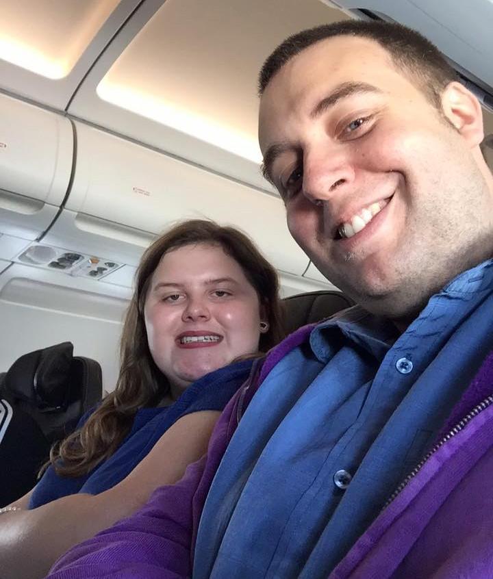 On The Plane To Edinburgh