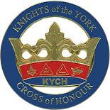 Knight York cross of Honour pin